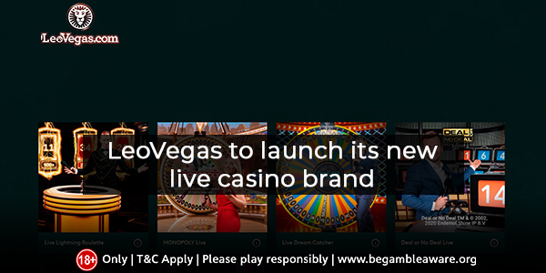 LeoVegas to launch its new live casino brand